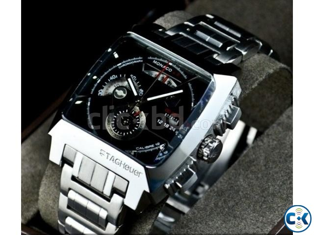 Tag Heuer Monaco LS Caliber 12 Chain Watch | ClickBD large image 0