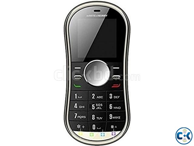 Whitecherry Spinner Phone Dual Sim intact | ClickBD large image 0
