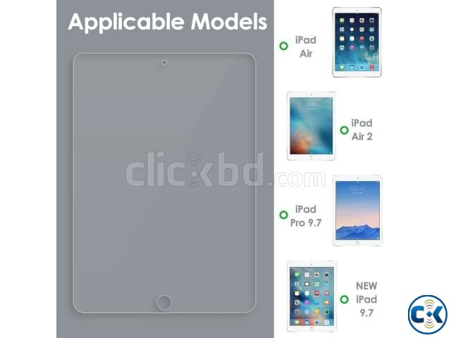 iPad iPad Air iPad Air 2 iPad Pro Tempered Glass | ClickBD large image 1
