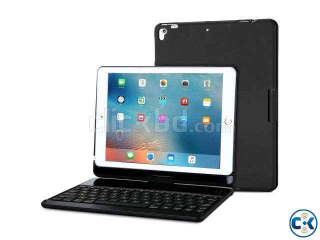 iPad 9.7 Keyboard iPad - 360 Degree Rotation Cover | ClickBD large image 0