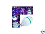 LED Rotating Party Bulb - White