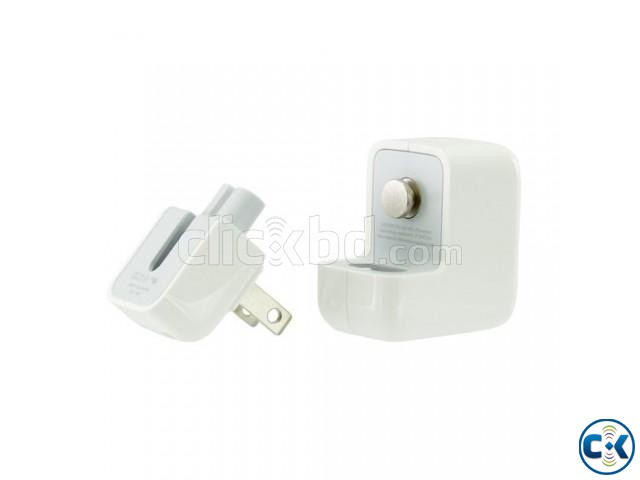 AC to USB Power 12W for Apple iPad support | ClickBD large image 1