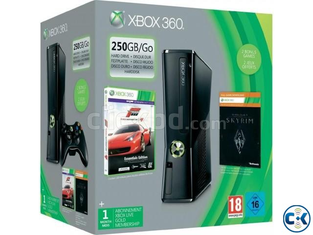 Xbox-360 250GB full fresh with warranty | ClickBD large image 0