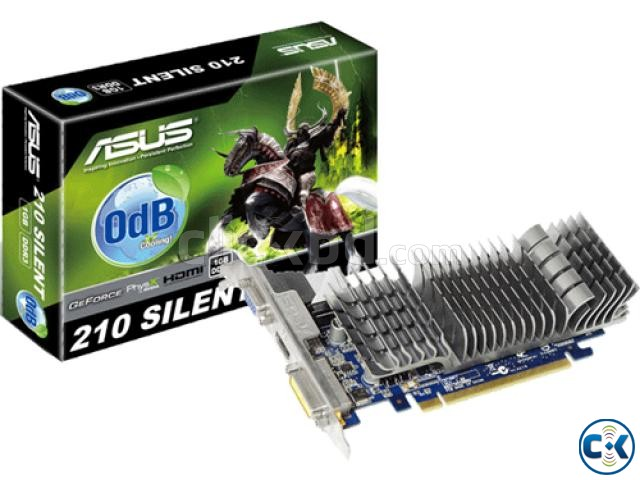 Asus Nvidia 210 Silent 1gb Graphics card With Box | ClickBD large image 0