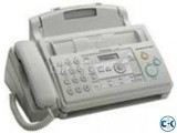 Panasonic KX-FP701CX Plain Paper Fax Machine 2-Line Display