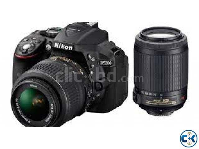 Nikon Camera Digital SLR D5300 24MP Full HD WiFi and GPS | ClickBD large image 1