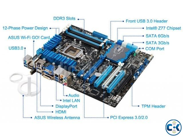 Core i7 Powerful Gaming PC at Low price | ClickBD large image 3