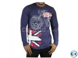 FULL SLEEVE COTTON T-SHIRT FOE MEN YAMAHA-UK