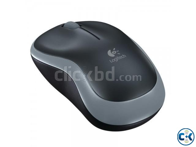 Logitech M185 Wireless Mouse Grey | ClickBD large image 1