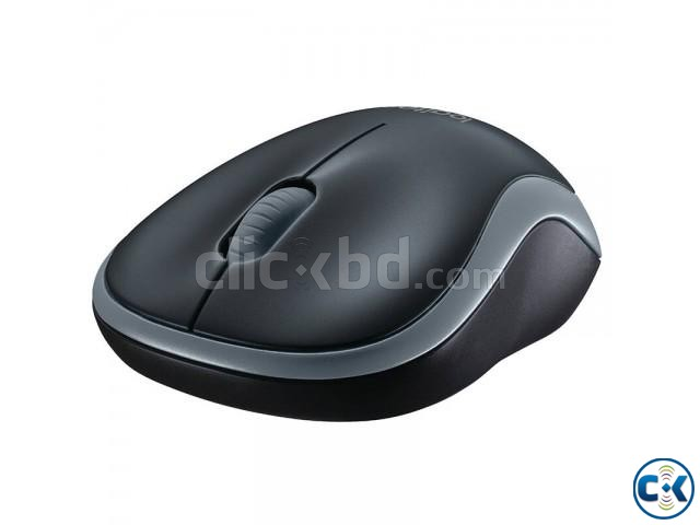 Logitech M185 Wireless Mouse Grey | ClickBD large image 2