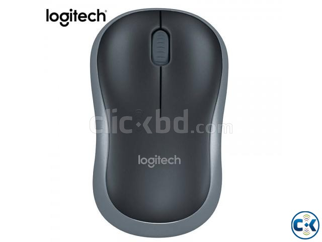 Logitech M185 Wireless Mouse Grey | ClickBD large image 4