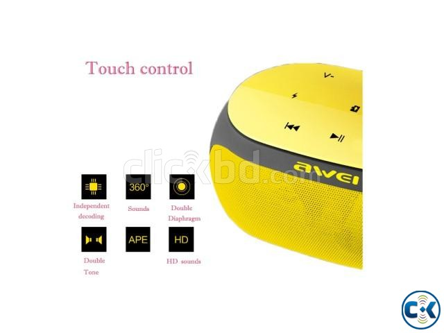 Awei Y200 Bluetooth Speaker Portable | ClickBD large image 4