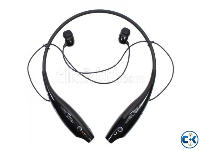 Bluetooth Stereo Headset LG Tone Black | ClickBD large image 0