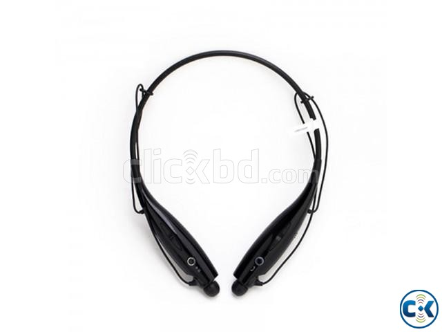 Bluetooth Stereo Headset LG Tone Black | ClickBD large image 1