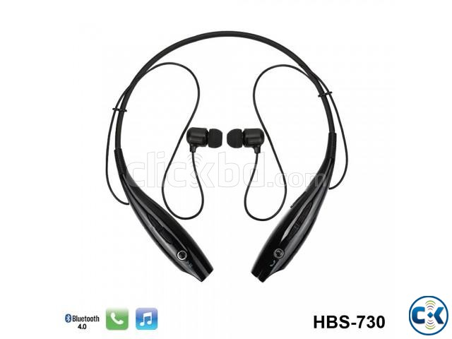 Bluetooth Stereo Headset LG Tone Black | ClickBD large image 3