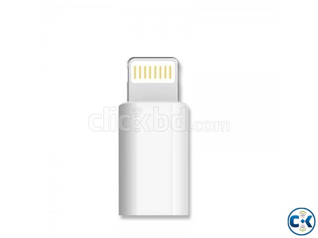 Micro USB Adapter for iPhone | ClickBD large image 0