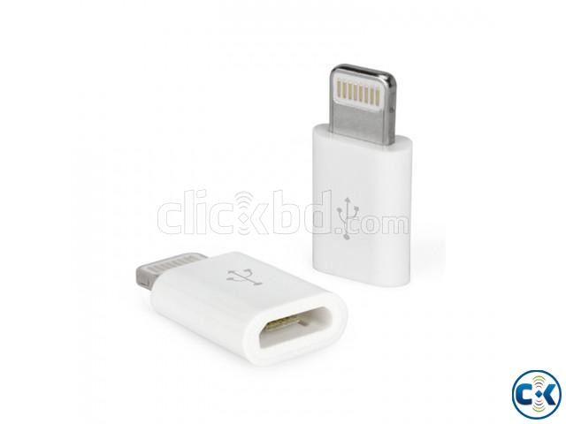 Micro USB Adapter for iPhone | ClickBD large image 1