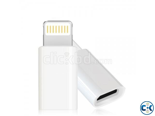 Micro USB Adapter for iPhone | ClickBD large image 2