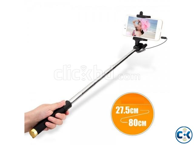 Selfie Stick Wired for Smart Phone   ClickBD large image 2