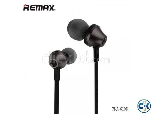 RM-610D Super Bass In-Ear Earphone Black | ClickBD large image 0