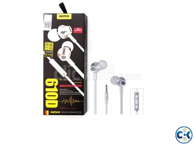 RM-610D Super Bass In-Ear Earphone White | ClickBD large image 0