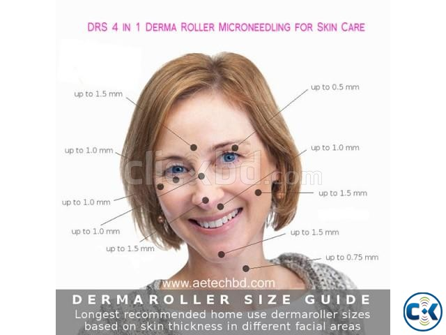 Derma roller micro needling 4 in 1 for skin care | ClickBD
