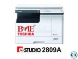 Toshiba E-Studio 2809A Network ADU Standard Copier Machine