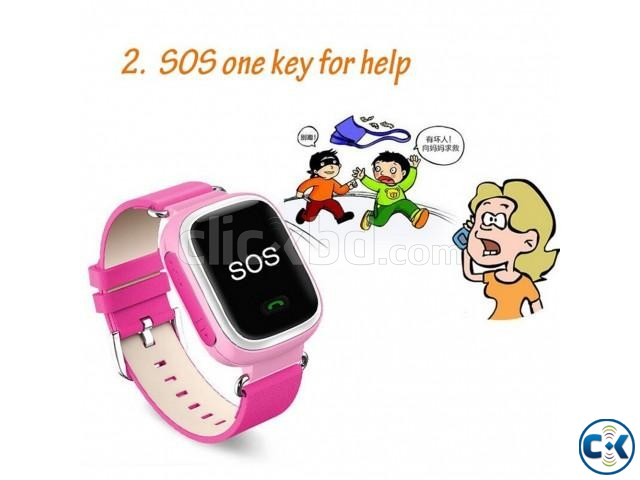 KIDS GPS SMART WATCH PHONE | ClickBD large image 1