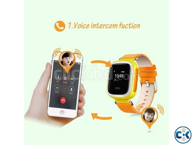 KIDS GPS SMART WATCH PHONE | ClickBD large image 2