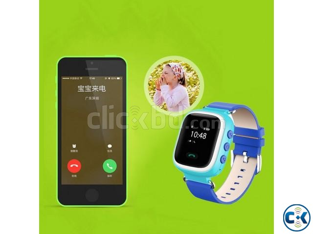 KIDS GPS SMART WATCH PHONE | ClickBD large image 3
