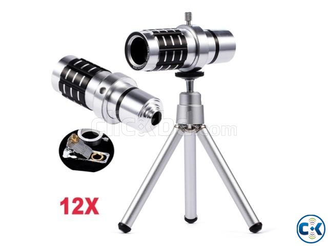 12X Universal Mobile Phone Lens | ClickBD large image 0