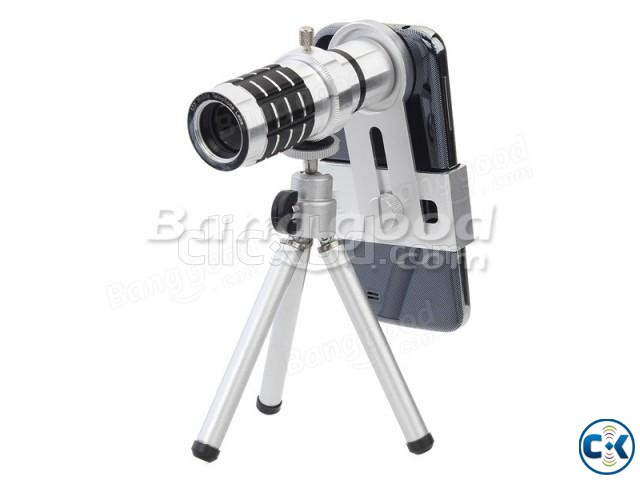 12X Universal Mobile Phone Lens | ClickBD large image 2