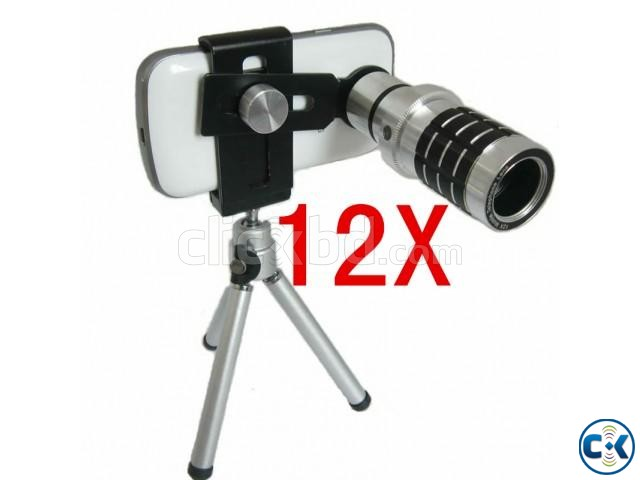 12X Universal Mobile Phone Lens | ClickBD large image 3