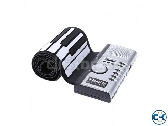 Flexible 49 Keys Electronic Roll-up Piano | ClickBD large image 1