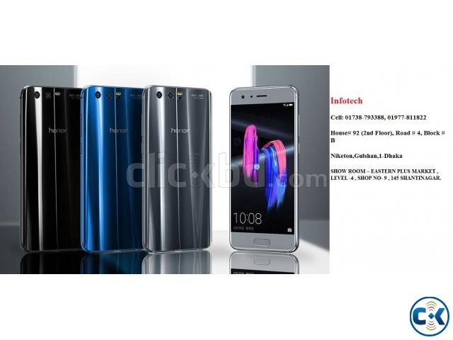 Huawei Honor 9 WITH 4GB RAM OF 64GB LOW PRICE BD | ClickBD large image 1