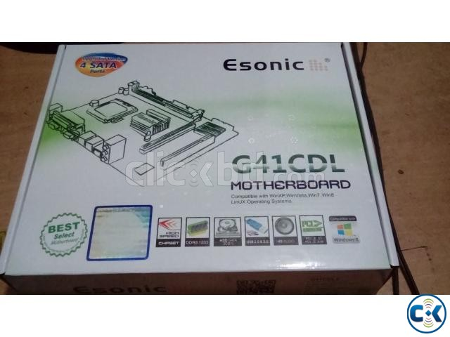 Esonic 41 New Motherboard | ClickBD large image 0