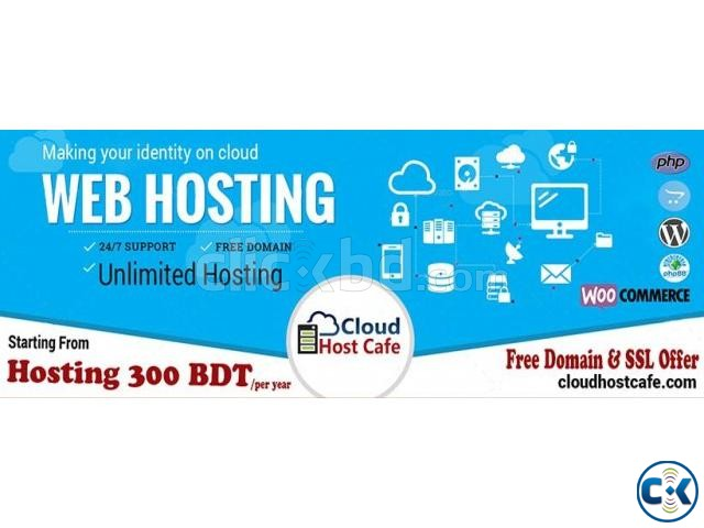 300TK Year Hosting With Free Domain SSL For Life Time. | ClickBD large image 0