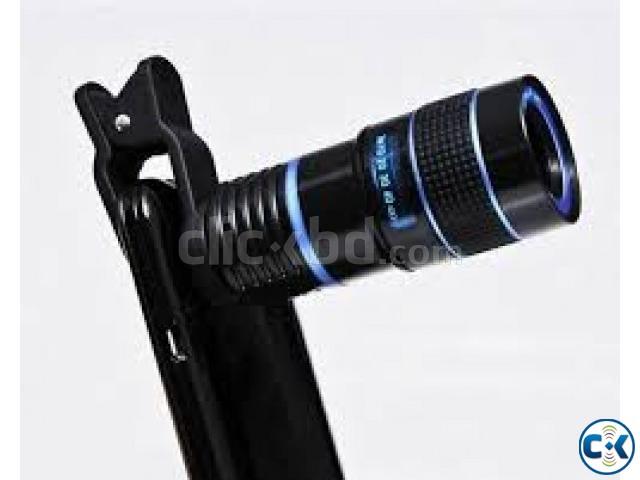 8X Optical Zoom Telescope Camera Lens   ClickBD large image 0