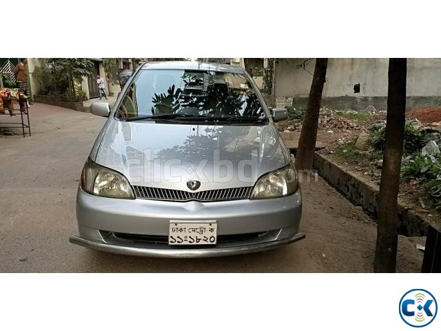 Family Used TOYOTA platz G EDT Model 2002 Reg 2005 | ClickBD large image 0