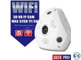 VR CCTV IP Wifi Camera 360