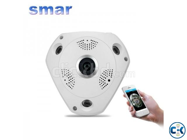 VR CCTV IP Wifi Camera 360  | ClickBD large image 2