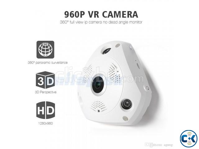 VR CCTV IP Wifi Camera 360  | ClickBD large image 3