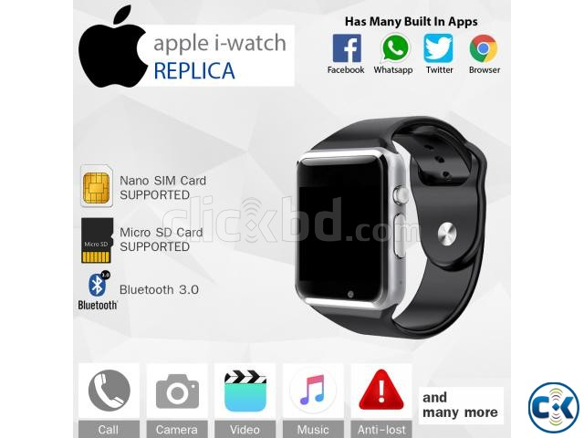 Smart Watch Mobile Watch Apple i-Watch Mastercopy | ClickBD large image 0