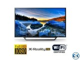 Sony Bravia W652D 55 Inch Slim LED Full HD Wi-Fi Smart TV