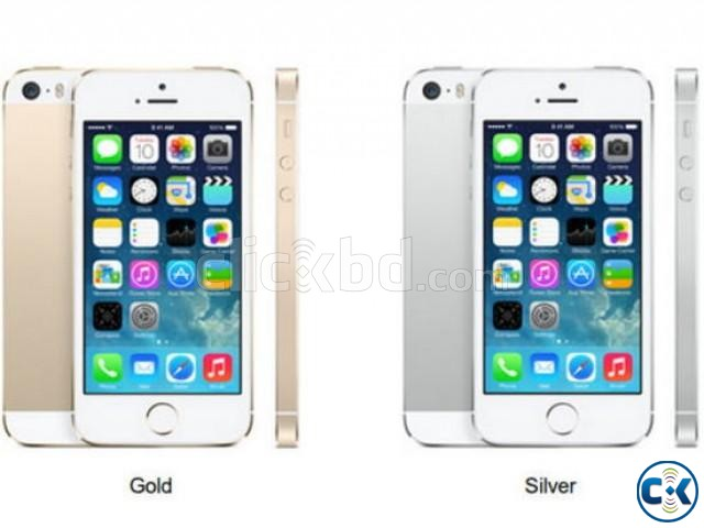 APPLE I-PHONE 5S 16GB SILVER COLOR | ClickBD large image 0