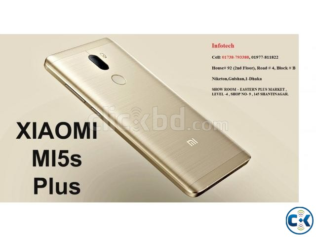XIAOMI MI 5S PIUS 6GB 128GB LOWEST PRICE IN BD | ClickBD large image 2