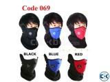 Bike Face Mask Black