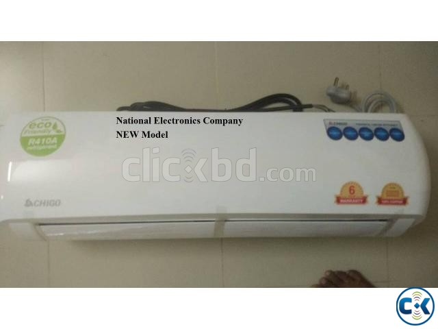 NEW Model 1.5 TON INTACT BOX CHIGO SPLIT AC 18000 BTU | ClickBD large image 0