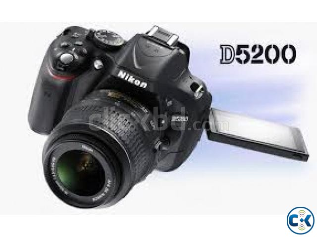Nikon D5200 Body 24.1 MP CMOS HD Video Digital SLR Camera   ClickBD large image 0