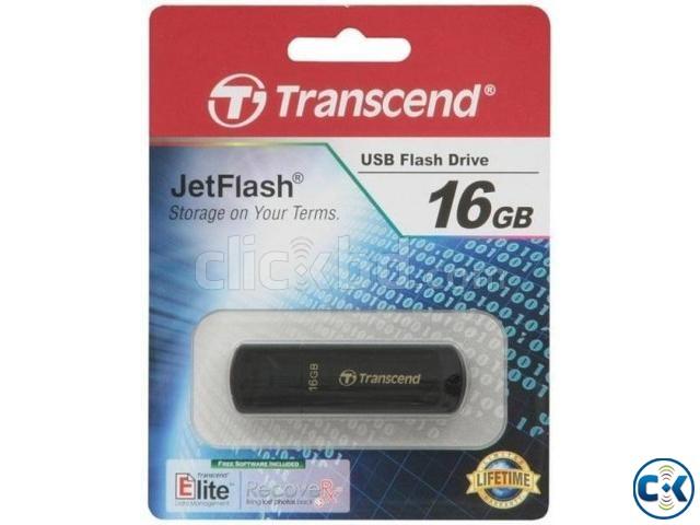 Transcend V350 16GB Pen drive-multicolour | ClickBD large image 0